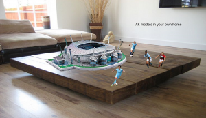 Manchester City football augmented reality