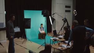 Depth kit volumetric filming