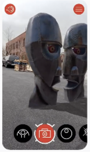 Pink floyd augmented reality